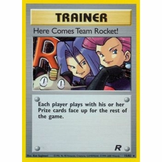 Pokemon Team Rocket Holo Card - Here Comes Team Rocket! 15/82