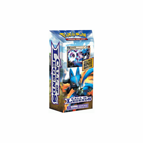 Pokemon Trading Card Game Call of Legends Theme Deck Retort (Lucario)