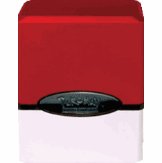 Pokemon Ultra Pro Satin Red & White Deck Box