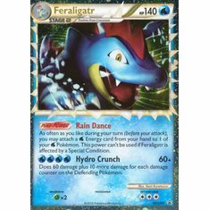 Pokemon Ultra Rare Promo Card - Feraligatr (Prime) HGSS07