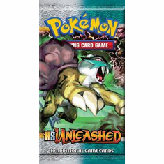 Pokemon Unleashed (HS2) Booster Pack