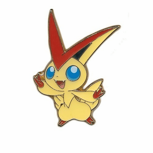 Pokemon Victini Collector's Pin