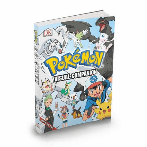 Pokemon Visual Companion Hardcover Book