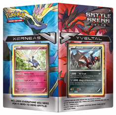 Pokemon Xerneas vs Yveltal Battle Arena Decks