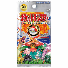 Pokemon XY Break 20th Anniversary Concept Booster Pack (Japanese)
