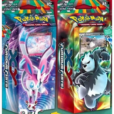 Pokemon XY Furious Fists Theme Deck Set (Pangoro & Sylveon)