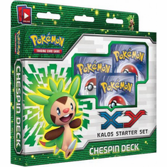 Pokemon XY Kalos Chespin Starter Set