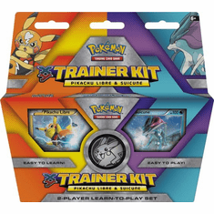 Pokemon XY Trainer Kit - Pikachu Libre Suicune