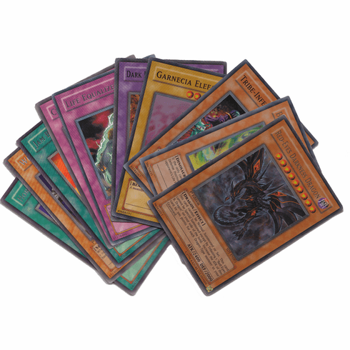 PokeOrder's YuGiOh 2012 Premium Tin (With 5 Rare Cards & 5 Holo Cards)