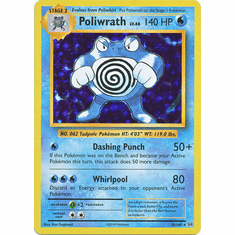 Poliwrath 25/108 Holo Rare - Pokemon XY Evolutions Single Card