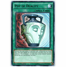Pot of Duality HSRD-EN056 Rare - YuGiOh High Speed Riders Card