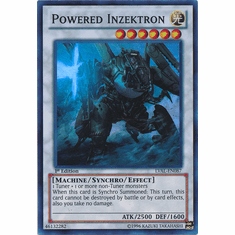 Powered Inzektron LVAL-EN087 - YuGiOh Legacy Of The Valiant Super Rare Card