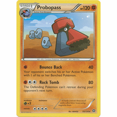 Probopass 55/114 Rare - Pokemon XY Steam Siege Card
