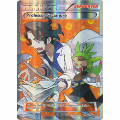Professor Sycamore 114/114 Full Art - Pokemon XY Steam Siege Card