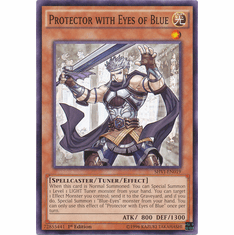 Protector with Eyes of Blue SHVI-EN019 Common - YuGiOh Shining Victories Card