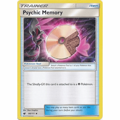 Psychic Memory 98/111 Uncommon - Pokemon Crimson Invasion Card