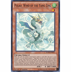 Pulao, Wind of the Yang Zing DUEA-EN031 - SUPER RARE Duelist Alliance Card