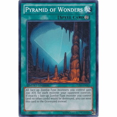 Pyramid of Wonders GLD5-EN043 - YuGiOh Haunted Mine Common Card