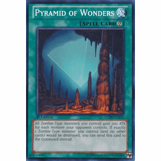 Pyramid of Wonders LCJW-EN215 - YuGiOh Joey's World Common Card