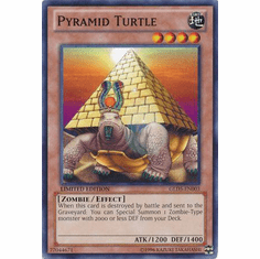 Pyramid Turtle GLD5-EN003 - YuGiOh Haunted Mine Common Card