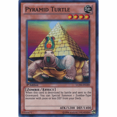 Pyramid Turtle LCJW-EN189 - YuGiOh Joey's World Super Rare Card