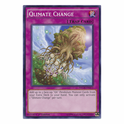 Qlimate Change NECH-EN073 - Common The New Challengers Card