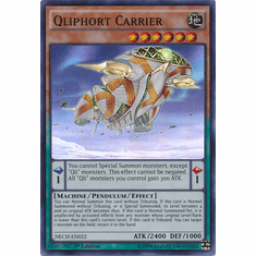 Qliphort Carrier NECH-EN022 - Super Rare The New Challengers Card