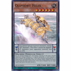 Qliphort Helix NECH-EN023 - Super Rare The New Challengers Card