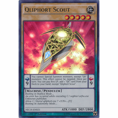 Qliphort Scout NECH-EN021 - Ultra Rare The New Challengers Card
