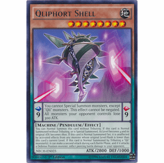 Qliphort Shell NECH-EN025 - Rare The New Challengers Card