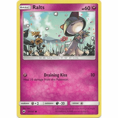 Ralts 91/147 Common - Pokemon Sun & Moon Burning Shadows Card