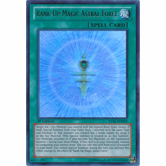 Rank-Up-Magic Astral Force LVAL-EN059 - YuGiOh Legacy Of The Valiant Rare