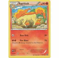 Rapidash 17/114 Uncommon - Pokemon XY Steam Siege Card