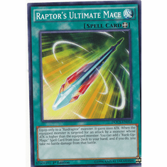 Raptor's Ultimate Mace DOCS-EN055 Common - Dimension Of Chaos Card