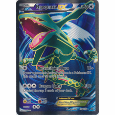 Rayquaza EX 104/108 Full Art - Pokemon XY Roaring Skies Card