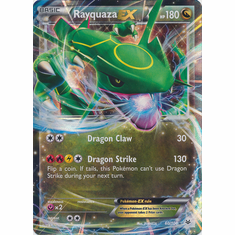 Rayquaza EX 60/108 Ultra Rare - Pokemon XY Roaring Skies Card