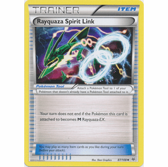 Rayquaza Spirit Link 87/108 Uncommon - Pokemon XY Roaring Skies Card
