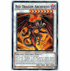 Red Dragon Archfiend HSRD-EN023 Common - YuGiOh High Speed Riders Card