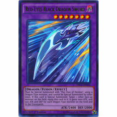 Red-Eyes Black Dragon Sword DRL3-EN066 Ultra Rare - YuGiOh Dragons of Legend Unleashed Card