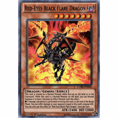 Red-Eyes Black Flare Dragon CORE-EN020 Super Rare - YuGiOh Clash of Rebellions Card