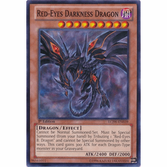 Red-Eyes Darkness Dragon LCJW-EN039 - YuGiOh Joey's World Common Card