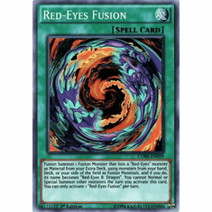 Red-Eyes Fusion CORE-EN059 Super Rare - YuGiOh Clash of Rebellions Card