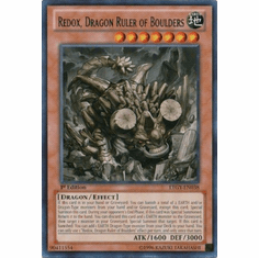 Redox, Dragon Ruler of Boulders LTGY-EN038 - Lord Of The Tachyon Galaxy Rare