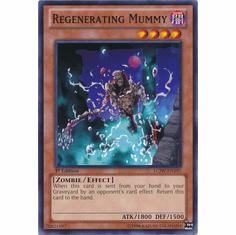 Regenerating Mummy LCJW-EN197 - YuGiOh Joey's World Common Card