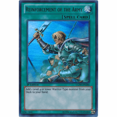 Reinforcement of the Army LCJW-EN286 - YuGiOh Joey's World Ultra Rare Card