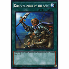 Reinforcement of the Army WIRA-EN052 Common - YuGiOh Wing Raiders Card