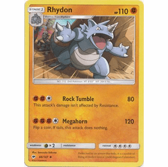 Rhydon 66/147 Uncommon - Pokemon Sun & Moon Burning Shadows Card