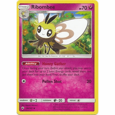 Ribombee 96/147 Uncommon - Pokemon Sun & Moon Burning Shadows Card