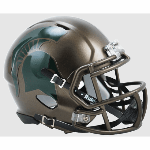 Riddell Michigan State Spartans Speed Mini Helmet - Bronze