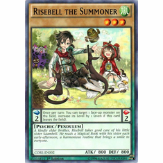 Risebell the Summoner CORE-EN002 Common - YuGiOh Clash of Rebellions Card